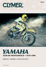 CLYMER REPAIR MANUAL Fits: Yamaha YZ80,YZ60,YZ50