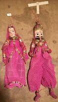 Vintage Indian Rajasthani Handmade Puppets