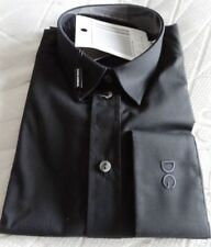 Dolce & Gabbana Gold Collection Mens Formal Shirt - Black - size 16""