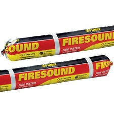 FIRESOUND FIRE RATED ACOUSTIC SEALANT MASTIC BOX OF 15 X 600ML SAUSAGES NEW GREY