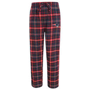 New Mens NEW ENGLAND PATRIOTS Sleep Lounge Pants Size Large NFL Knit Flannel