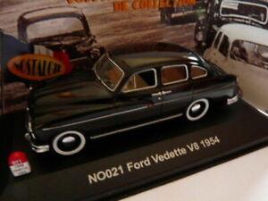 FRD1 voiture UNIVERSAL HOBBIES NOSTALGIE 1/43 : FORD vedette V8 1954