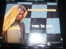 Novaspace – Run To You Australian Remixes CD Single – Like New