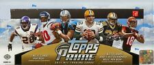 2011 Topps Prime Football Factory Sealed 6 Box Hobby Case - 24 Hits per Case