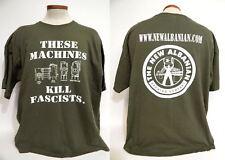 These Machines Kill Fascists Beer New Albanian Brewing Company 2XL XXL T-shirt