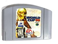 World Cup 98 Soccer Nintendo 64 N64 Tested + Working & Authentic!