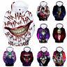 Haha joker 3D Sweatshirt Hoodie Men Women Hip Hop Funny Streetwear Pullover Coat