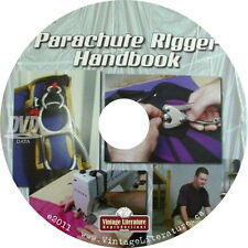 Parachute Riggers Handbook { Do It Yourself Guide ~ How to Pack It }  on DVD