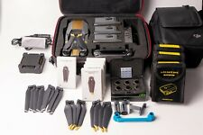 DJI Mavic Pro Fly More Combo + Koffer + LiPo Bags + Landing Gear + ND Filterset