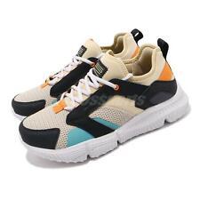 Skechers Zubazz-Coptic Taupe Black Orange Blue Men Chunky Shoes 51978-TPMT