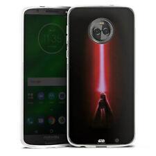 Lenovo MOTO g6 PLUS IN SILICONE GUSCIO Case Cellulare-Sith Lightsaber