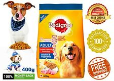 Dog Food dry Pedigree Adult Complete Nutrition,Chicken,Vegetables DRY 400g Pack