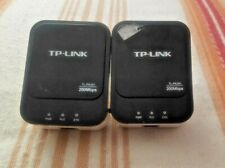 Pair of TP Link Powerline 200Mbps TL-PA201 Single Output