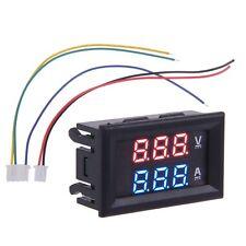 Dual LED DC Car Digital Ammeter Voltmeter LCD Panel Amp Volt Meter 100A 100V