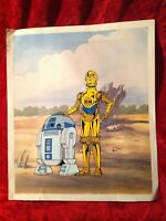 Lucasfilm Ltd. Original Limited Edition Sericel of Star Wars R2-D2 and C-3PO