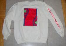 New Vintage 1989 Virginia Slims Roland Garros Crewneck Sweatshirt Size -L - Usa