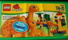 Rare Lego Duplo Dinosaur Set 2603 Mom & Dad Mini figures, Mom & Baby Dinosaur