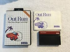 Outrun For The Sega Master System Boxed & Complete PAL UK
