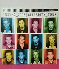 N Sync 2002 Celebrity Tour Book