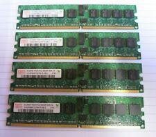 Hynix HYMP564P72CP8-Y5 2GB (4x512MB) PC2-5300 DDR2 ECC CL5 240P DIMM Memory