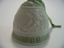 1988 Lladro Christmas Bell Ornament with original box and paperwork