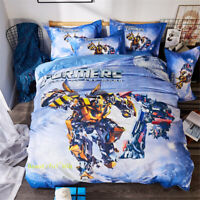 Transformers Single/Queen/King Bed Doona Quilt Duvet Cover Set 100% Cotton