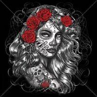 Dia De Los Muertos Girl Hoodie Mexican Heritage Day of the Dead