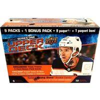 2020-21 Upper Deck Series 1 NHL Hockey  Mega Box (10) Packs