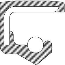 Engine Crankshaft Seal-VIN: U, Vulcan Rear AUTOZONE/NATIONAL BEARINGS & SEALS