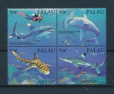 [56608] Palau 1993 Marine life Shark Diving MNH
