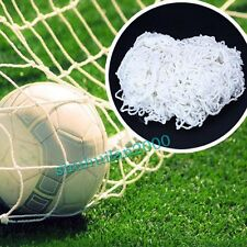 Outdoor 8 x 6ft Full Size Football Net for Teenager Soccer Goal Sports Training