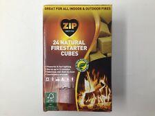Zip Natural Firestarter Instant Light Cubes, 24 Count Pack for indoor & outdoor