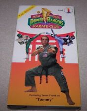 Mighty Morphin Power Rangers Karate Club, The - Level 1 (VHS, 1994)