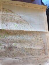 VINTAGE ORDNANCE SURVEY OF GREAT BRITAIN MAP NORWICH