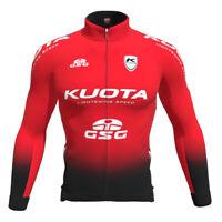 Kuota Long Sleeve roubaix Jersey Cycling Road bike Racing Team Kit Red Black GSG