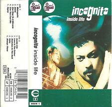 Incognito Inside Life CASSETTE ALBUM Talkin Loud 848 5464 Electronic Acid Jazz