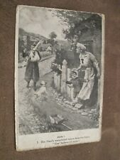 Philco World War 1 postcard - British Army Soldier Return of the hero
