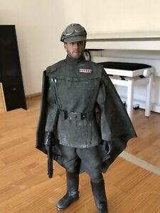 """Custom 1/6 scale Star Wars Mudtrooper Officer Solo, Sideshow, Hot Toys style 12"""""""