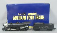 American Flyer 6-48041 S Scale Union Pacific Mikado 2-8-2 Steam Locomotive & Ten