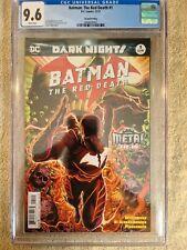 Batman: The Red Death #1 - 2nd Print CGC 9.6 WP - Dark Nights Tie In