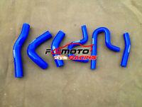 BLUE For Suzuki Jimny SN 413 1.3L M13A 2000-2011 Silicone Radiator Heater Hose