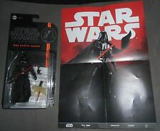 Action Figure DARTH VADER Hasbro The Black Series #6 STAR WARS Mini Poster A5077