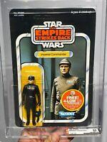 AFA 85 Star Wars 1982 Kenner ESB Imperial Commander 47 Back (C85 B85 F80) CLEAR