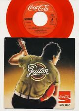 Coca Cola - Guitar - 7 Inch RED Vinyl Single - Mini 33 LP - BELGIUM