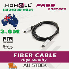 Y-OF12-3M Toslink Optical Fiber Digital Audio Cable With Metal Plug