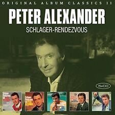 PETER ALEXANDER - ORIGINAL ALBUM CLASSICS,VOL. II (SCHLAGER-RENDEZV 5 CD NEU