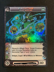 Rath'tab Mind Scryer - Super Rare - Chaotic Card - Alliances Unraveled