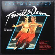 Magic di Ballerini & Dean World Tour Moderno Danza Classica LP 1984 pattinaggio sul ghiaccio del Regno Unito