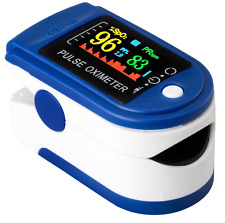 Quality Fingertip Pulse Oximeter Blood Oxygen, Heart Rate, SpO2 Monitor, PR PI