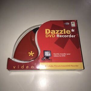Pinnacle Dazzle DVD PC Recorder Video Capture Model Number DVC100 Pre Owned
